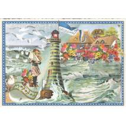 Am Meer - Tausendschön - Postkarte