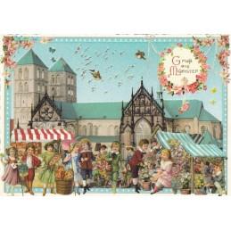 Münster - Tausendschön - Postcard