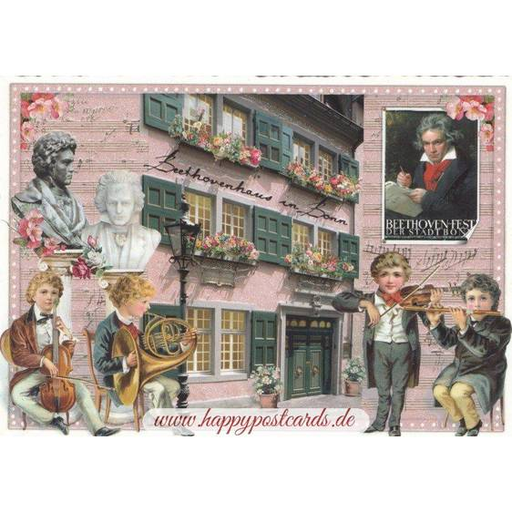 Bonn Beethovenhaus - Tausendschön - Postcard