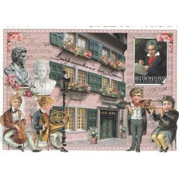 Bonn Beethovenhaus - Tausendschön - Postkarte