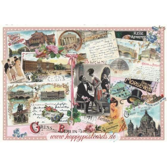 Berlin- Tausendschön - Postkarte