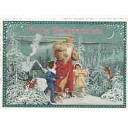 Eine Wanderung - Tausendschön - Weihnachtspostkarte