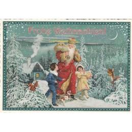 Eine Wanderung - Tausendschön - Weihnachtskarte