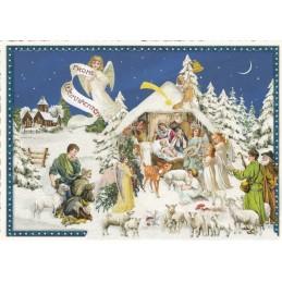 In dieser Nacht - Tausendschön - Weihnachtskarte