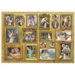 Engelgalerie - Tausendschön - Weihnachtspostkarte