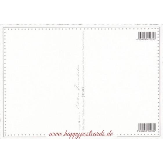 Weihnachtsbaum - Tausendschön - Postkarte