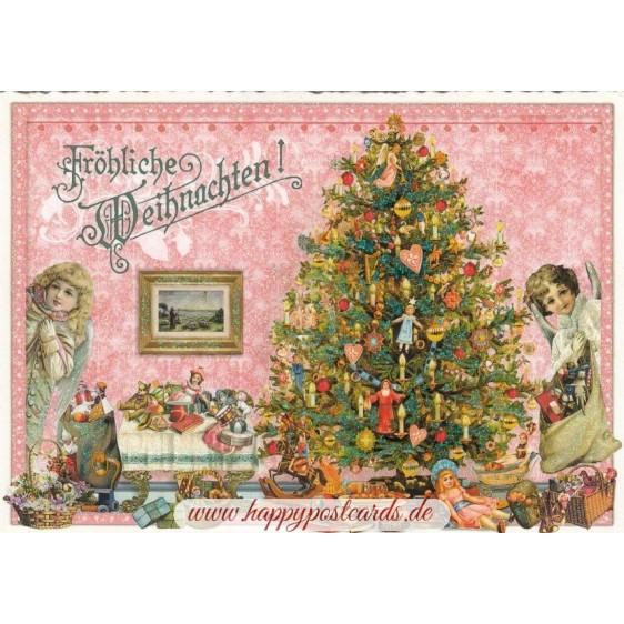 Christmas tree - Tausendschön - Postcard