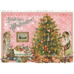 Weihnachtsbaum - Tausendschön - Weihnachtskarte