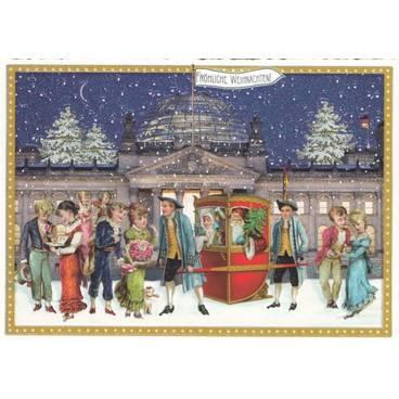 Berlin - Weihnachten - Tausendschön - Postkarte