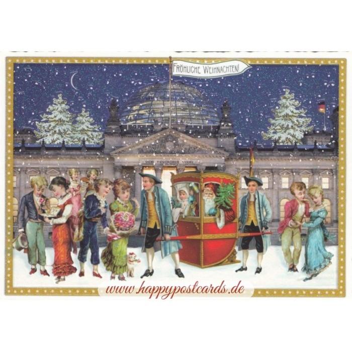 Weihnachtskarten Berlin.Berlin Weihnachten Tausendschön Weihnachtskarte