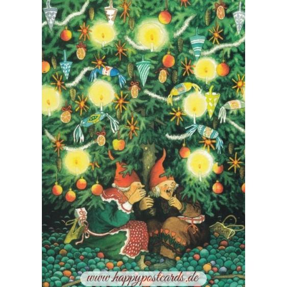 45 - Frauen unterm Tannenbaum - Postkarte