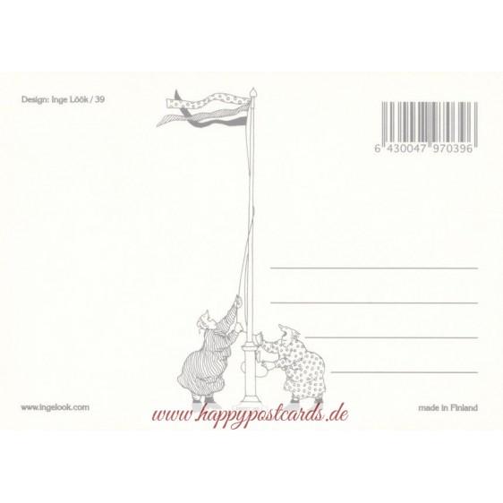 39 - Zwerge - Postkarte