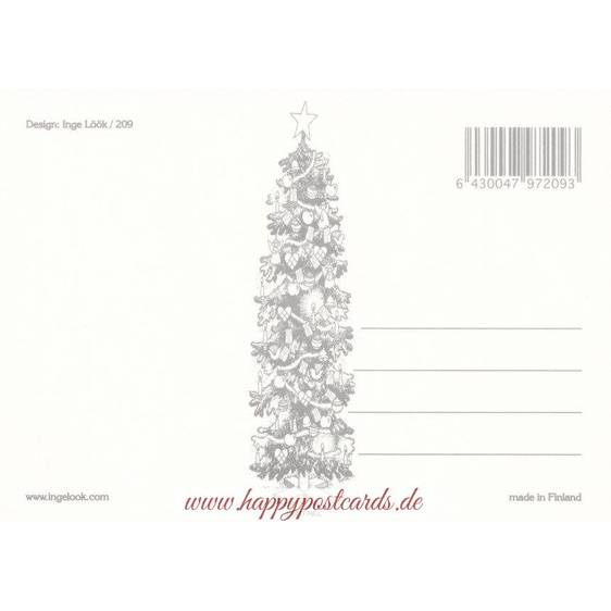 209 - Zwerg auf Stelzen - Postkarte