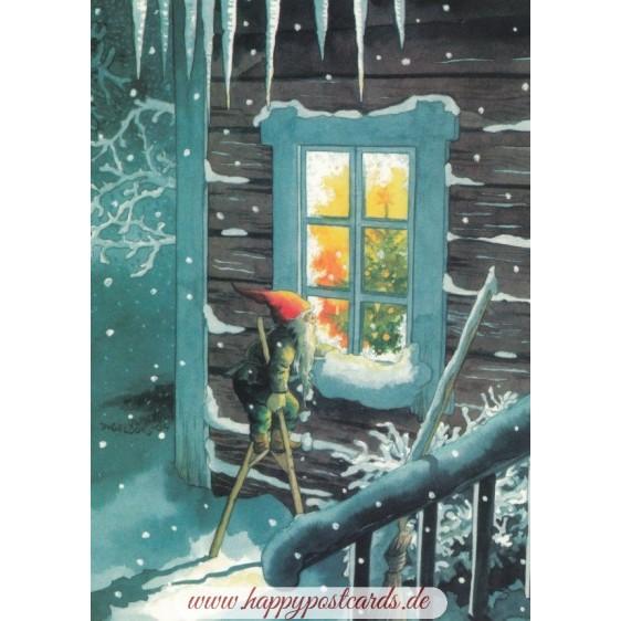 209 - Dwarf on Stilts - Postcard