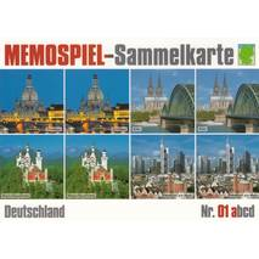 Deutschland 1a - Memospiel-Sammelkarte