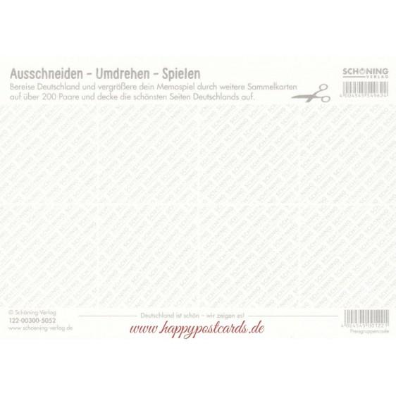 Deutschland 1b - Memospiel-Sammelkarte