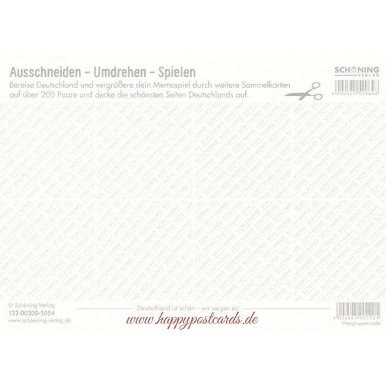 Deutschland 1d - Memospiel-Sammelkarte