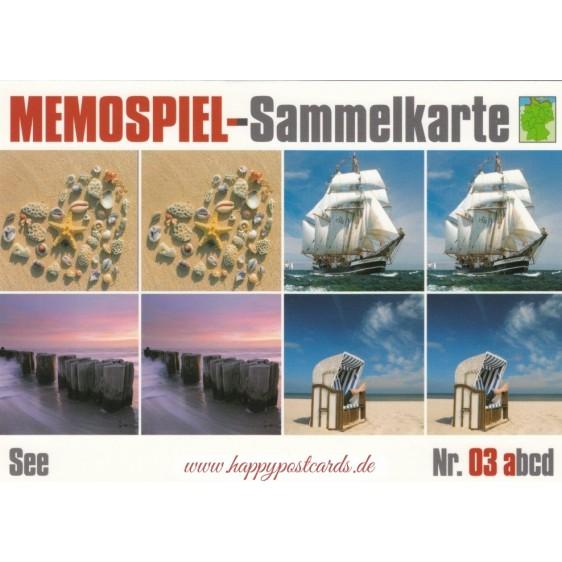See 3a - Memospiel-Sammelkarte