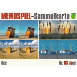 See 3b - Memospiel-Sammelkarte