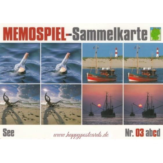 See 3c - Memospiel-Sammelkarte