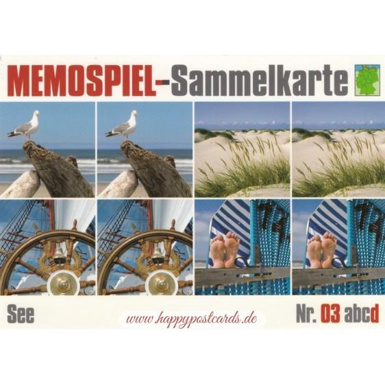 See 3d - Memospiel-Sammelkarte