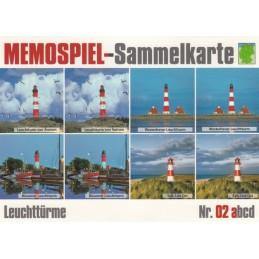 Leuchttürme 2a - Memospiel-Sammelkarte