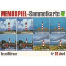 Lighthouses 2a - Collector Card Memory