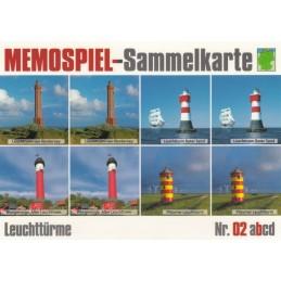 Leuchttürme 2b - Memospiel-Sammelkarte