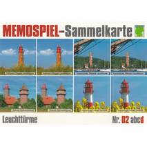 Lighthouses 2d - Collector Card Memory