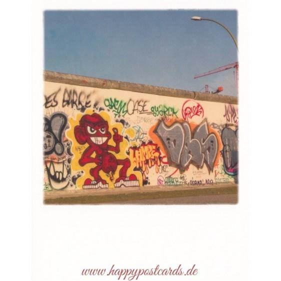 Berlin Mauergraffiti - PolaCard