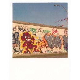 Berlin Graffiti on the Wall of Berlin - PolaCard
