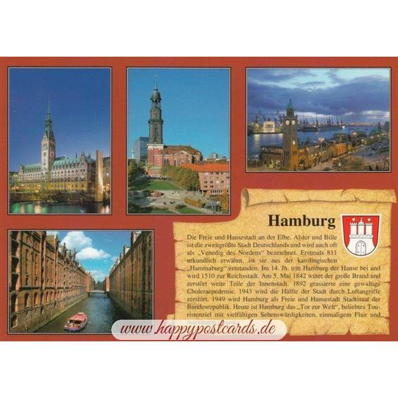 Hamburg - Chronicle - Viewcard