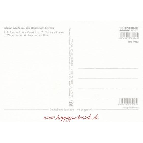 Bremen - Chronicle - Viewcard