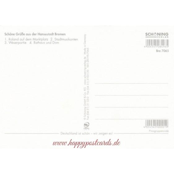 Bremen - Chronik - Ansichtskarte