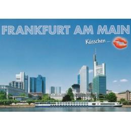 Küsschen-Frankfurt am Main - Ansichtskarte