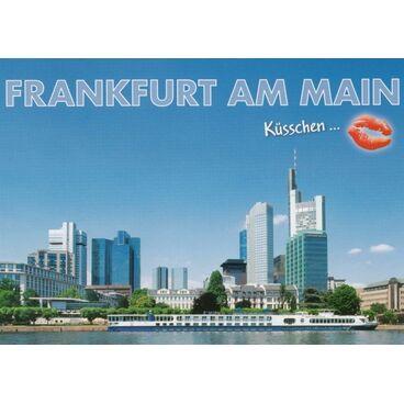 Kiss-Frankfurt am Main - Viewcard