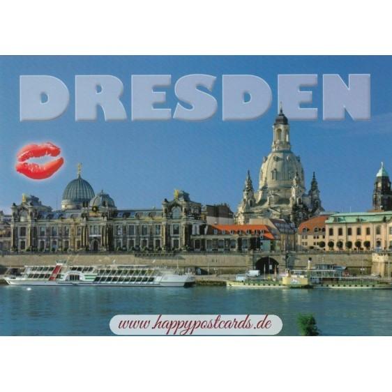 Kiss-Dresden - Viewcard