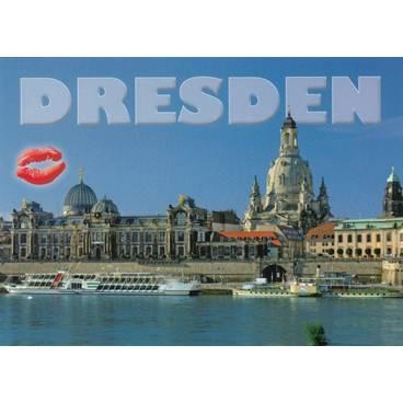 Küsschen-Dresden - Ansichtskarte