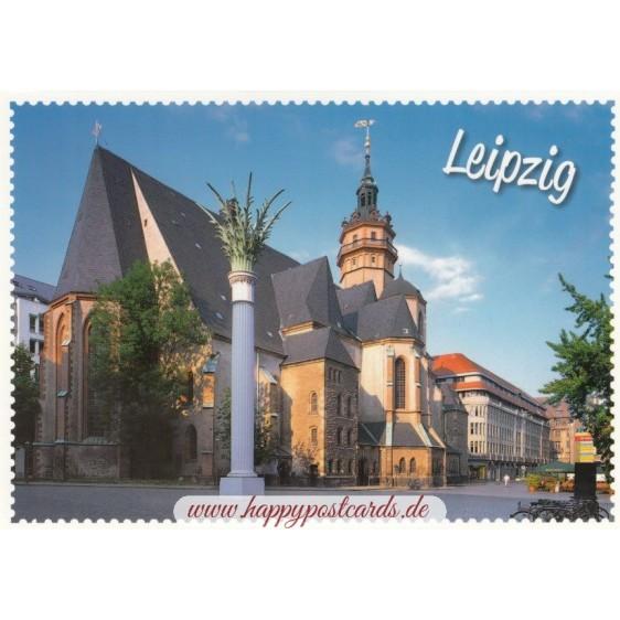 Leipzig Nikolaikirche - Ansichtskarte
