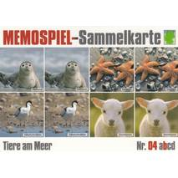 Tiere am Meer 4b - Memospiel-Sammelkarte