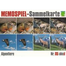 Animals in the Mountains 5d - Collector Card Memory