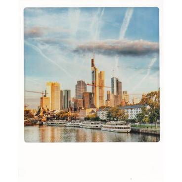 Frankfurt - Sich kreuzende Fremde - PolaCard