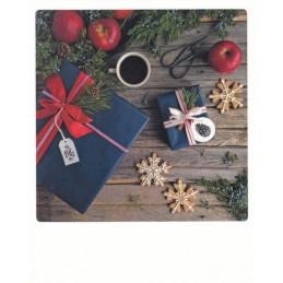 Blau rote Geschenke - PolaCard