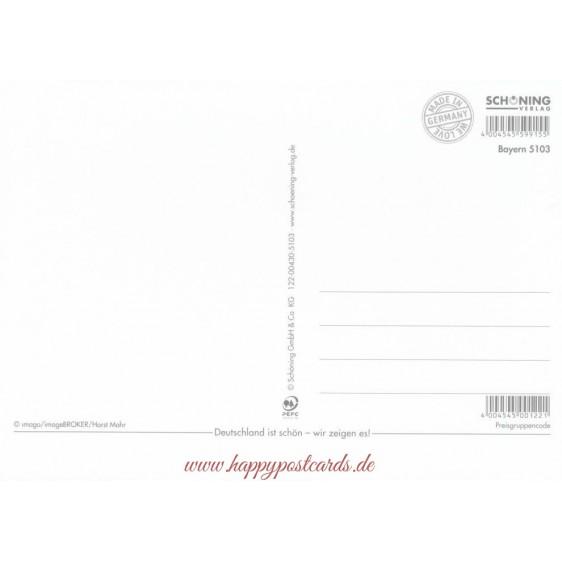 Bayern Rock'n Roll - Ansichtskarte