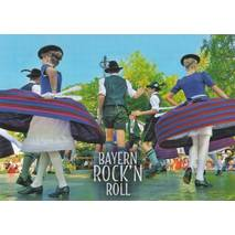 Bavarian Rock'n Roll - Viewcard