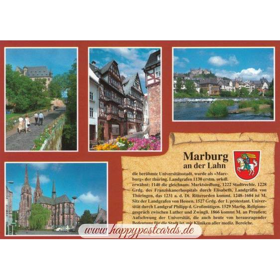 Marburg - Chronicle - Viewcard