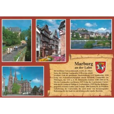 Marburg - Chronik - Ansichtskarte