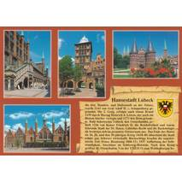 Lübeck - Chronicle - Viewcard