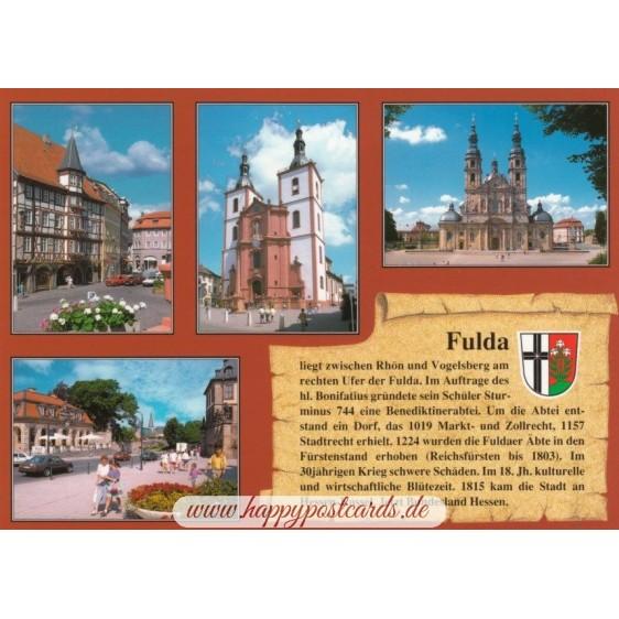 Fulda - Chronik - Ansichtskarte