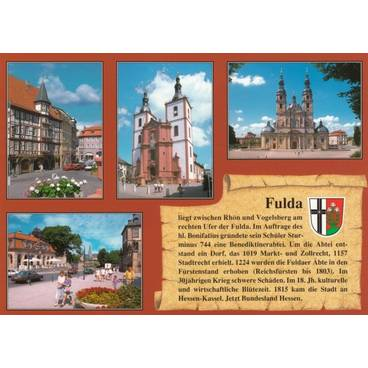 Fulda - Chronicle - Viewcard